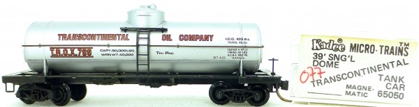 Micro Trains Line 65050 TROX 799 39' Single Dome Tank Car 1:160 OVP #i077 å