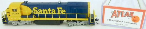 Atlas 49934 B36-7 Santa Fe 7490 Diesellok Decoder Ready OVP N 1:160 #17& å