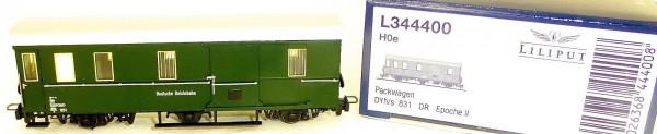 Packwagen DYh/s 831 DR EpII Liliput L344400 H0e 1:87 OVP Schmalspur HE6 µ*