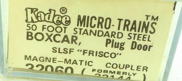 50´ Standard Boxcar FRISCO 12074 Micro Trains Line 32060 N 1:160 C å*