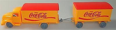 Coca-Cola Magirus Rundhauber Hängerzug orange rot IMU H0 1/87 #33# å