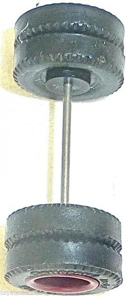 75 x Radsatz 31mm Achsbreite Continental braun Plastik Herpa Albedo 1:87 R242 å