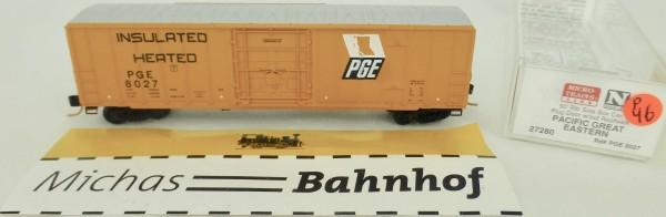 Pacific Great Eastern 50' Rib Side Boxcar 8027 Micro Trains Line 27280 1:160 P46 å