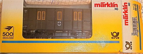 Postmuseumswagen Märklin 4500 PMS 60-01 H0 1:87 # å