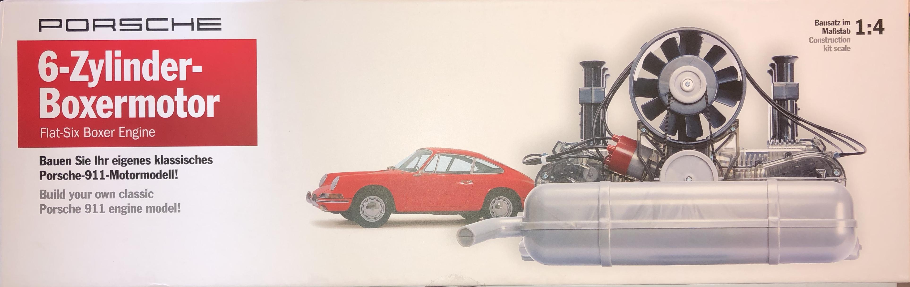 porsche carrera rennmotor 1953 typ 547 bausatz. Black Bedroom Furniture Sets. Home Design Ideas