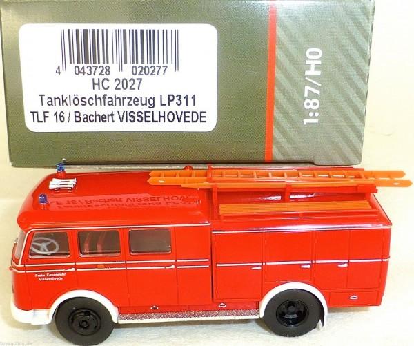 Tanklöschfahrzeug LP311 TLF16 Bachert VISSELHOVEDE HEICO HC2027 OVP NEU µ