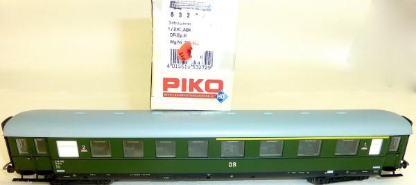 Schürzeneilzugwagen 1. 2.Klasse ABümle DR Ep3 PIKO 53272 H0 1:87 NEU OVP HU4 µ