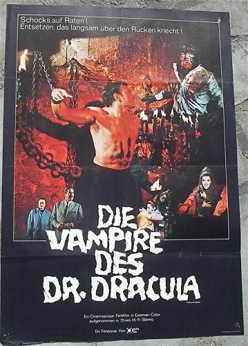 Die Vampire des Dr. Dracula Filmplakat