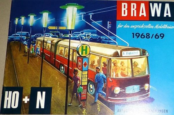 BRAWA KATALOG 1968 1969 H0 + N å *