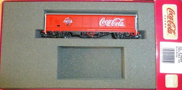 Coca Cola Hbis Güterwagen aus Lemke LC21025 H0 1:87 OVP UE å *