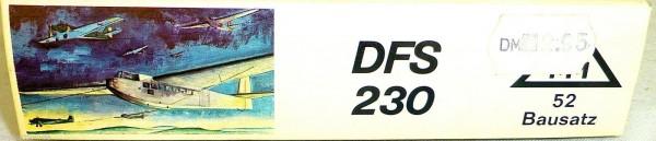DFS 230 Lastensegler Roskopf 52 NUR DER LEERE KARTON LEERKARTON HQ4 å *