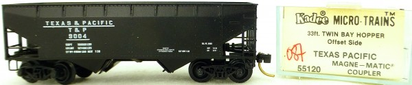 Micro Trains Line 55120 Texas&Pacific 9004 33' Twin Bay Hopper OVP 1:160 #K087 å
