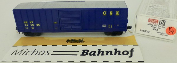 CSX 50' Rib Side Boxcar 141085 Micro Trains Line 25550/3 1:160 P04 å