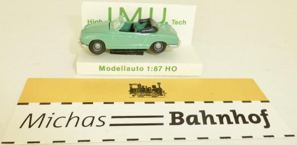 VW Carman Ghia Cabriolet türkis IMU EUROMODELL H0 1/87 OVP # GB5 å
