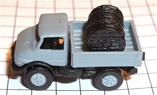 UNIMOG Mercedes Kabeltransport Kleinserie 1:160