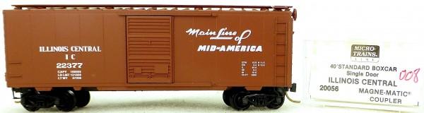 Micro Trains Line 20056 Illinois C 22377 40' Standard Boxcar 1:160 OVP #H008 å