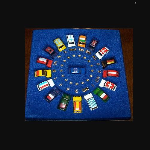 MINI EURO SET Mini Cooper Europa Sonderserie IMU Euromodell OVP N 1:160 å U'D3 *