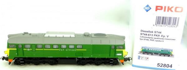 PIKO 52804 PKP ST44-613 Diesellok PluX22 EpV H0 1:87 OVP µHD5*