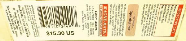 50´ Standard Boxcar GREEN BAY WESTERN 3020 Micro Trains Line 31130 N 1:160 C å*