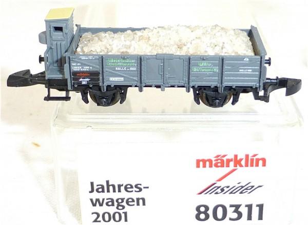 Insider Jahreswagen 2001 Märklin 80311 Z Miniclub 1/220 OVP neuwertig #3052
