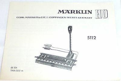 5112 Märklin Anleitung 68 504 TNN 0237 m