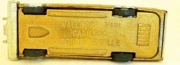 Cadillac Coupé de Ville goldmetallic Walldorf Mini Kleinserie H0 METALL P18 å *