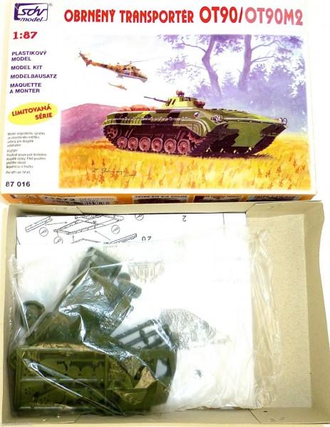 Pz Kfz OT90 OT90M2 Schützenpanzer 71572 SDV model 87016 Bausatz 1:87 LD2 å