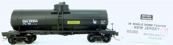 Micro Trains Line 65290 NJ 95204 39' Single Dome Tank Car 1:160 OVP #i039 å
