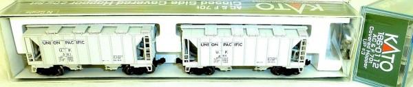 KATO 186-0112 AC&F 70t 2 Car UPClosed Side Covered Hopper OVP N 1:160 HS5 å*
