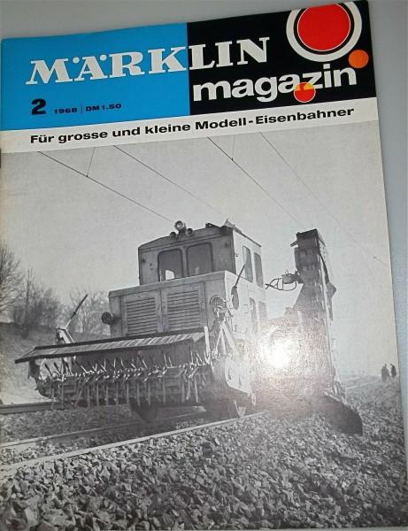 Märklin Magazin 2 1968 å