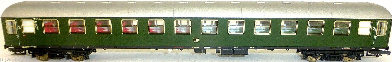 Schnellzugwagen B4üm 54 Türen öffnen DB Ep3 für AC Roco 45869 H0 1:87 LD1µ