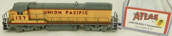 Atlas 49728 B23-7 Union Pacific 137 Diesellok Decoder Ready OVP N 1:160 #39* å