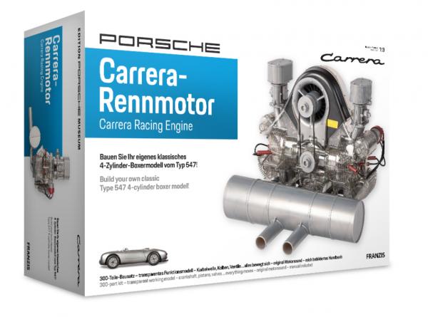Porsche Carrera-Rennmotor Typ 547 Franzis NEU 1:3 Bausatz Funktionsmodell µ* HW1