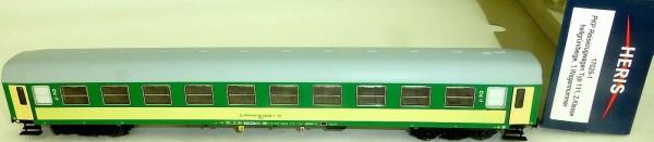 PKP Reisezugwagen 638-2 Typ111 2te Kl hellgrün beige Heris 17025-1 H0 NEU LF1 µ*