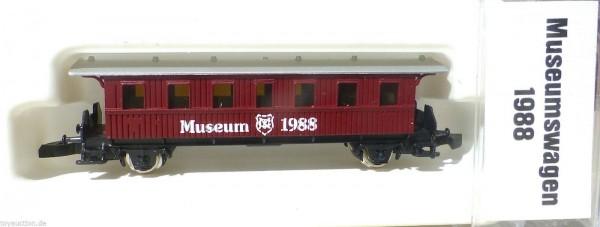 1988 Personenwagen Museumswagen Museum Märklin Spur Z 1:220 å