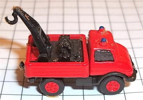 UNIMOG Mercedes Feuerwehr Kleinserie Metall IMU Spur N 1:160 å