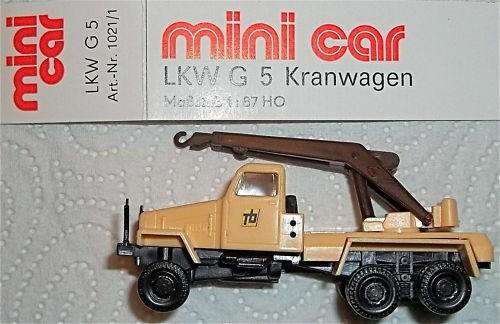 G 5 Kranwagen LKW Tb mini car OVP 1:87 HM3å*
