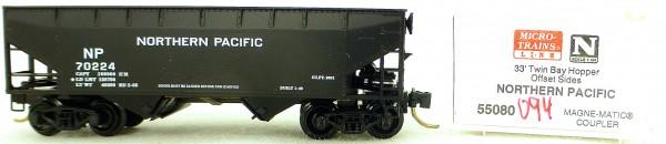 Micro Trains Line 55080 Northern Pacific 70224 33' Twin Hopper OVP 1:160 #K094 å