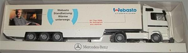 Webasto Standheizung Mercedes Benz Werbemodell Wiking neuwertig OVP H0 1:87√
