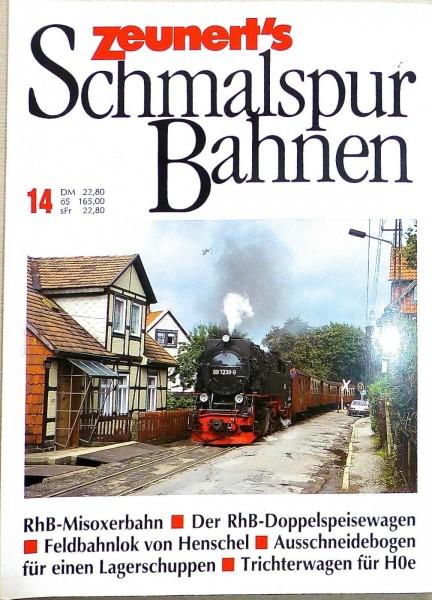 14 Zeunert's Schmalspur Bahnen å *