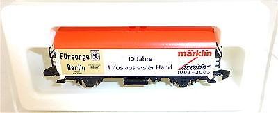 Fürsorge Berlin 10 J. Insider 1993-2003 miniclub Märklin Spur Z 1/220 OVP #3011#