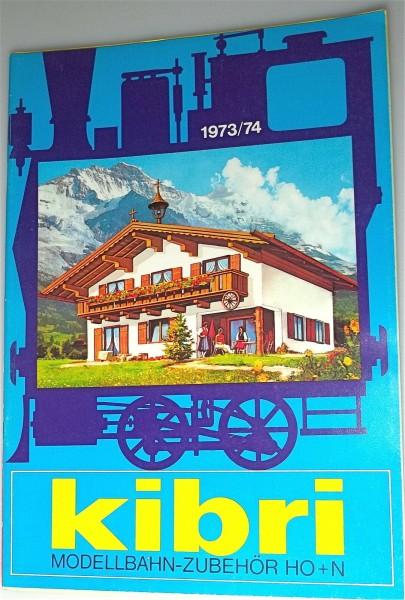 Kibri Katalog 1973/74 å