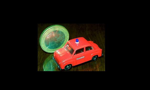 Goggomobil T 400 Feuerwehr SES H0 1:87 å