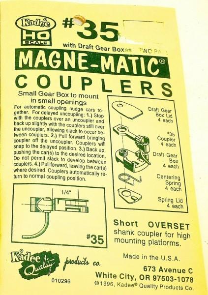 KADEE 35 Magne Matic Couplers H0 1:87 å *