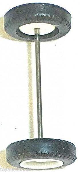 100 x Radsatz 28mm Achsbreite weiß Plastik Herpa Albedo 1:87 R119 å