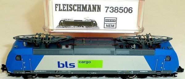 BLS Cargo E 185 Angel Trains Fleischmann 738506 N 1:160 OVP NEU HQ3 µ *