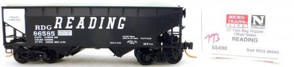 Micro Trains Line 55490 Reading 86585 33' Twin Hopper OVP 1:160 #K113 å