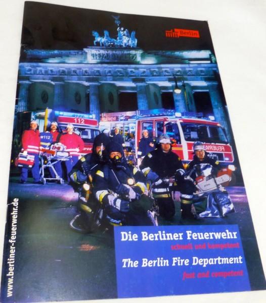 Die Berliner Feuerwehr, Broschüre # å