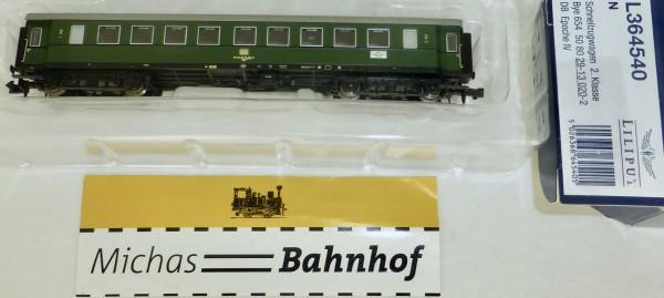 Schnellzugwagen 2.Klasse Bye DB Ep4 Liliput L364540 N 1:160 HS2 å