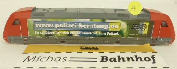 Polizei Beratung Ellok 101 029-7 Gehäuse TT 1:120 Ersatzteil siehe Druck å (A) *